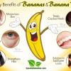 8 Beauty Benefits of Bananas and Banana Peels