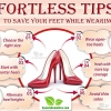 Effortless Tips to Save Your Feet while Wearing Heels