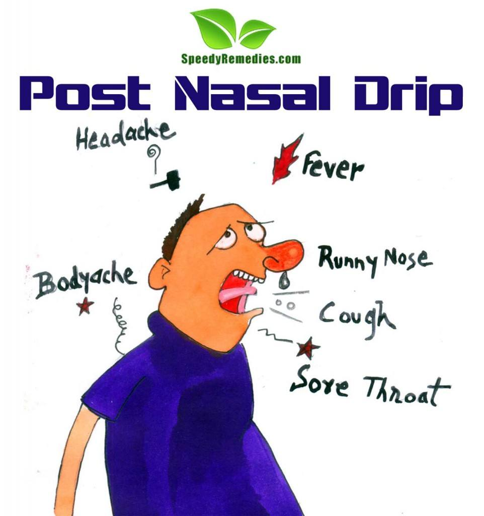 home remedies for post nasal drip