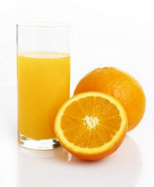 Orange juice for health
