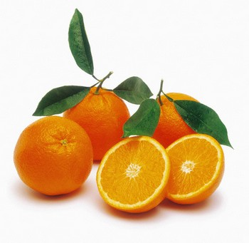 Sweet orange fruit