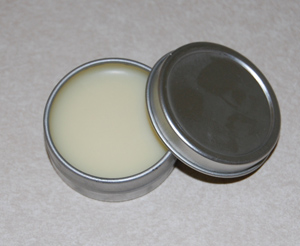 How do you make lip balm at home with natural ingredients?