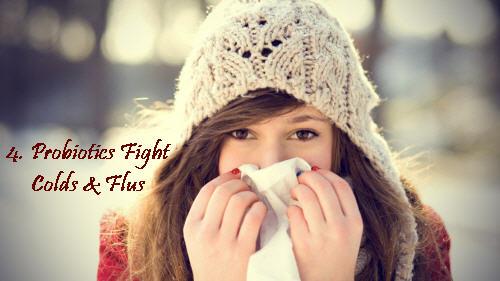 Probiotics for cold