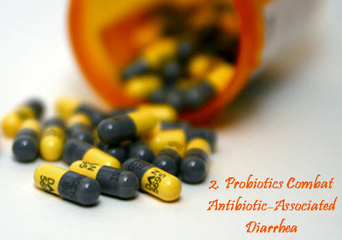 Probiotics for diarrhea