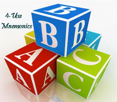 Use Mnemonics