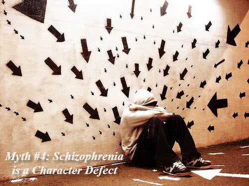 Schizophrenia character flaw