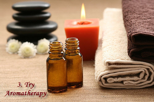 Try aromatherapy