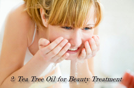 Beauty tea tree oil