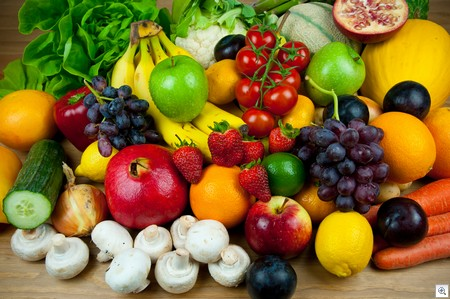 Foods with antioxidants