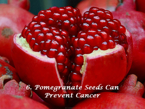 Pomegranate for cancer