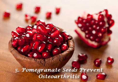 Pomegranate for osteo