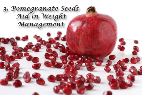 Pomegranate for weight