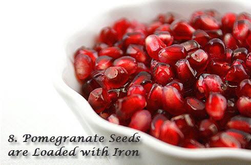 Pomegranate iron