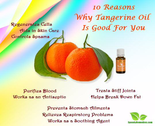 10 Reasons Why Tangerine Oil Is Good For You | Speedy Remedies