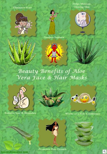 Aloe mask benefits