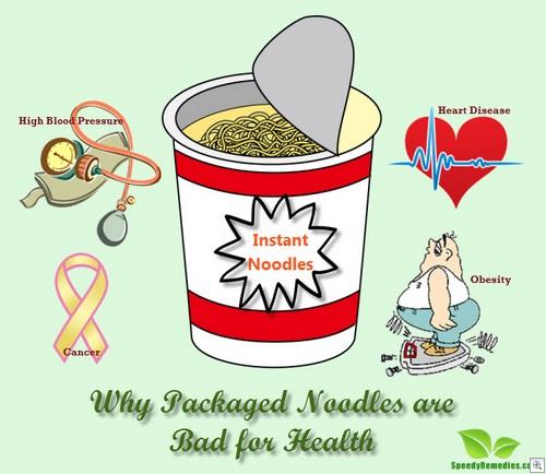 Noodles unhealthy