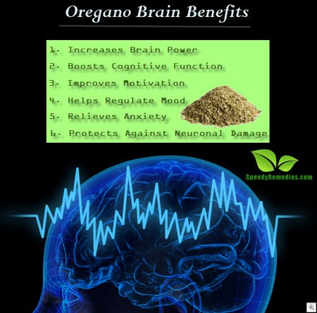 Oregano brain benefits