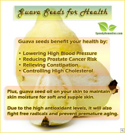 Guava seeds benefits