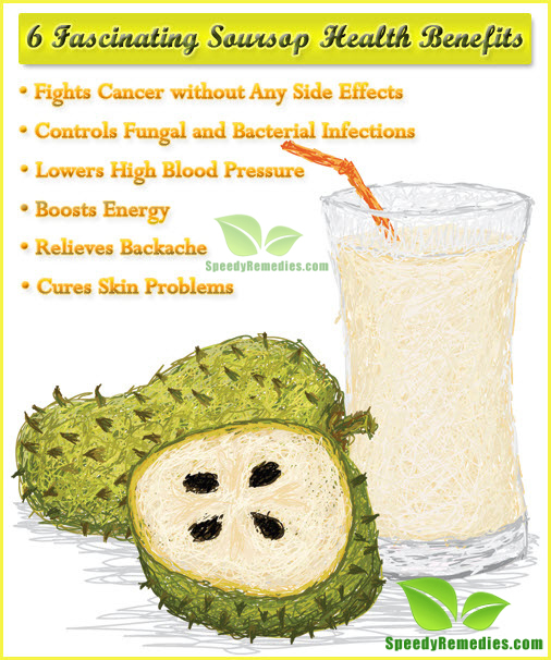 6 Fascinating Health Benefits Of Soursop Speedy Remedies
