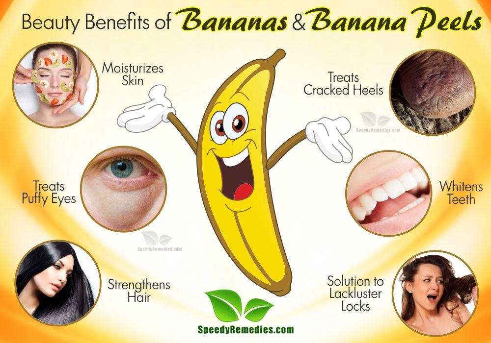 banana and banana peel beauty benefits