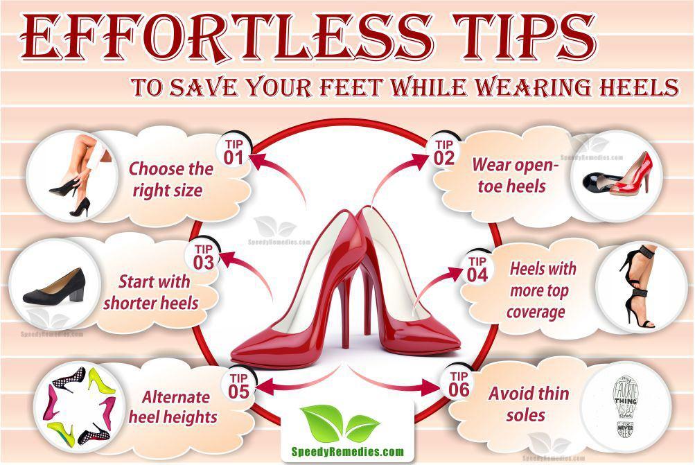 save feet while wearing heels