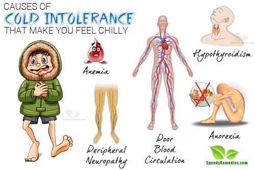 cold intolerance