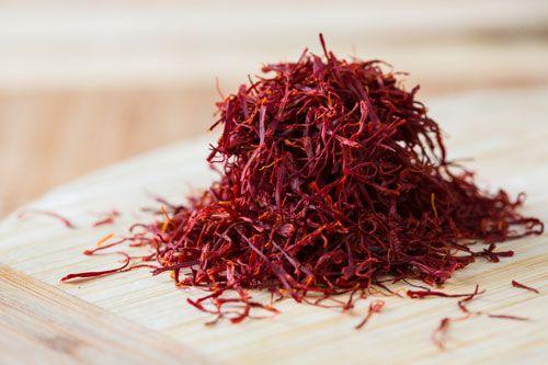 saffron-red