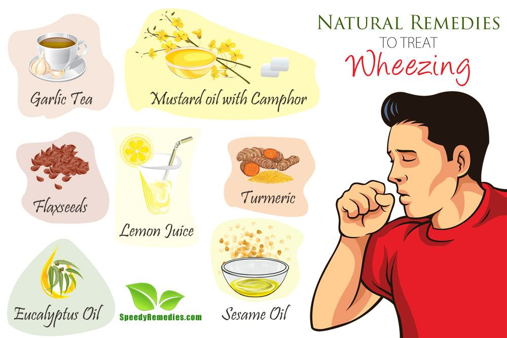 remedies to treat wheezing